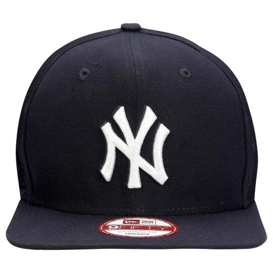 Boné New Era 950 MLB Original Fit Team Color New York Yankees - Marinho 32ff04cbeb4