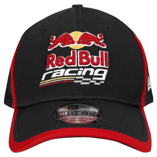 Boné New Era 3930 Red Bull Recorte - Compre Agora  ff6019a0083