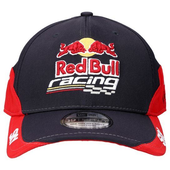 Boné New Era 3930 Red Bull Sky - Marinho e Vermelho - Compre Agora ... c0b38d0dc18