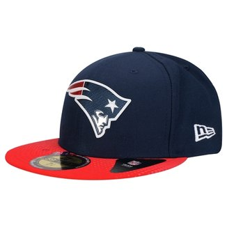 Boné New Era 5950 NFL Official Draft New England Patriots 5e7f1ee83a6