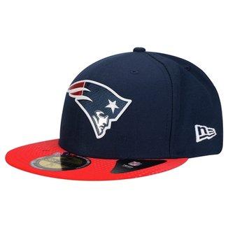 Boné New Era 5950 NFL Official Draft New England Patriots 5e7f1ee83a6