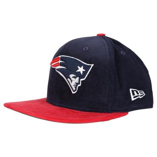 Boné New Era 950 NFL Original Fit Classic New England Patriots -  Marinho+Vermelho 3cb6e3b6f96