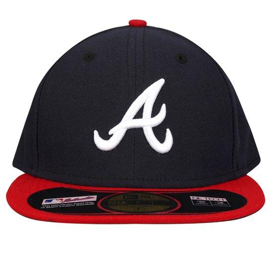 98dfb05a7ad47 Boné New Era 5950 MLB Atlanta Braves - Compre Agora