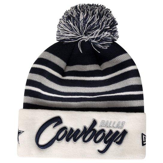 Gorro New Era NFL Pom Snow Stripe Dallas Cowboys - Compre Agora ... 45add265326