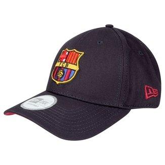3eae4062789f3 Boné New Era Barcelona Aba Curva 940 Team FC