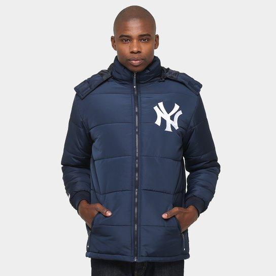 Jaqueta New Era MLB Bomber New York Yankees - Marinho - Compre Agora ... f9640e2bdb2