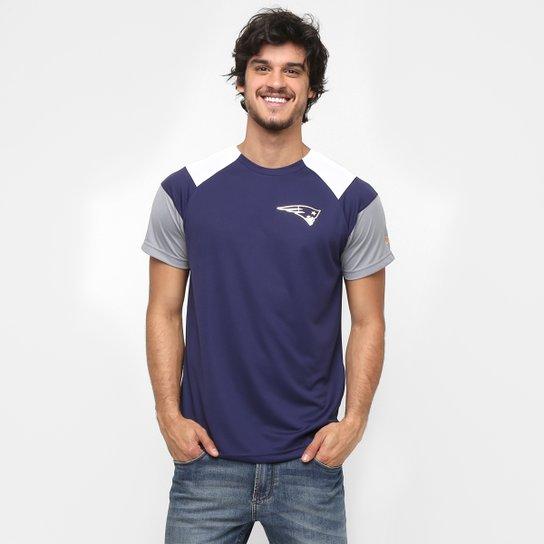 Camiseta New Era NFL Raglan Super Bowl New England Patriots - Compre ... 20a4bb18b35