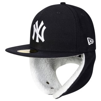 Boné New Era MLB 5950 Flurry Fit Dogear New York Yankees 97aa28c572f
