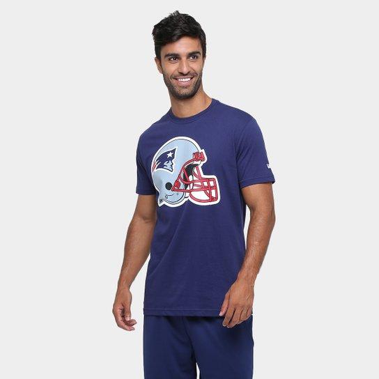 d05083e8c Camiseta New Era NFL Datehelmet New England Patriots - Compre Agora ...