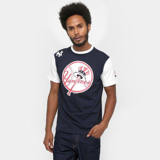 Camiseta New Era MLB Mascote 3 New York Yankees - Compre Agora ... 6de1e09a60b