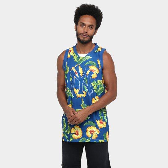 Camiseta Regata New Era Flower Match New York Yankees - Compre Agora ... a06ad2a4a3d