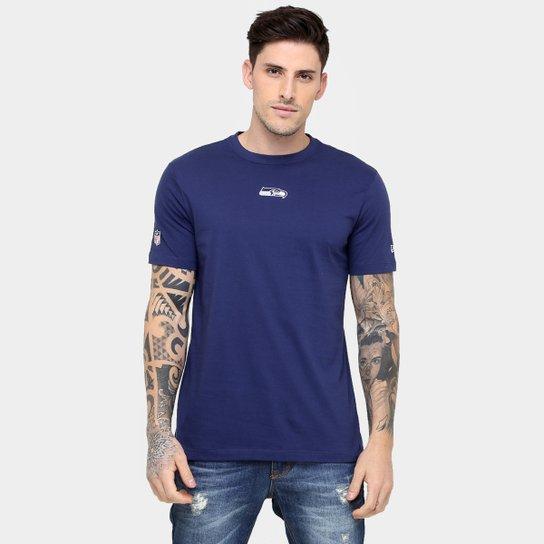 122b818e0 Camiseta New Era NFL Mini Logo Seattle Seahawks - Compre Agora ...