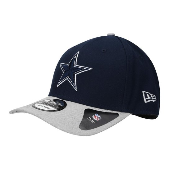 Boné Dallas Cowboys New Era Aba Curva NFL 940 Hc Sn Basic - Marinho ... ef45ad214a7