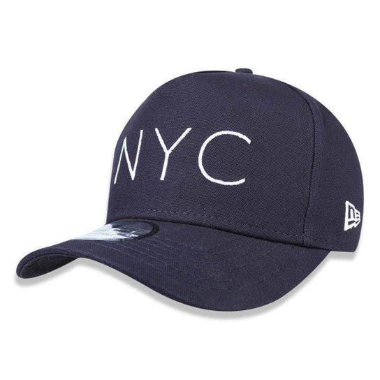 Boné New Era 940 NYC New York City - Marinho - Compre Agora  7ee2a117583