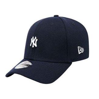 86b02ef9d98b4 Boné New Era MLB NY Yankees Mini Logo Team Marinho