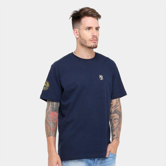 Camiseta New Era MLB New York Yankees Gold City Masculina - Compre ... 9b9330bcb15