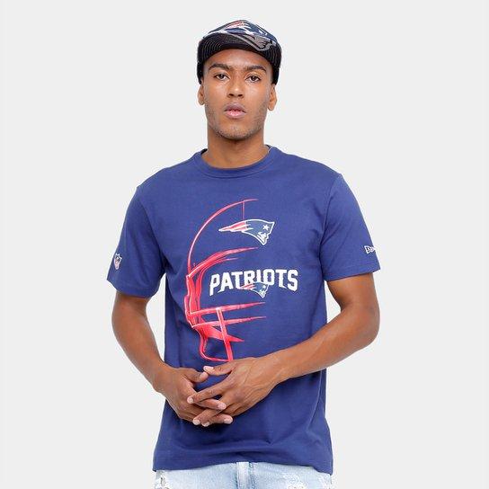 d86fdc4c1 Camiseta New England Patriots New Era Capacete Masculina - Compre ...