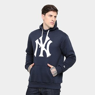 Moletom New York Yankees New Era Canguru Nice 47 Masculino 63e577f832b