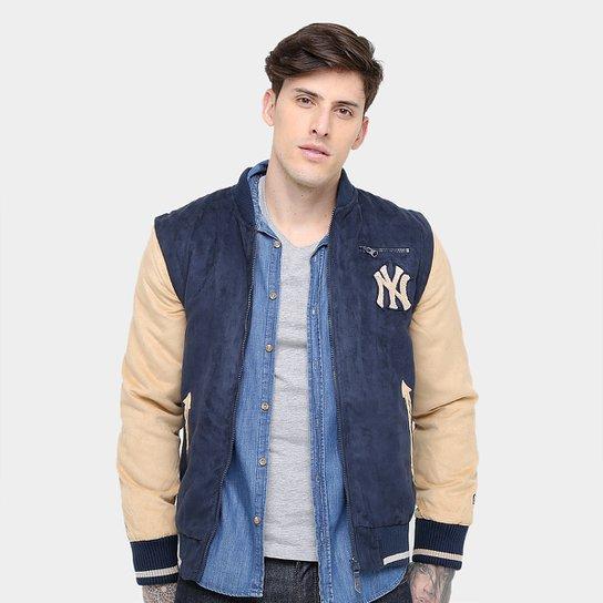 4eb698fdd Jaqueta New York Yankees New Era 2 Em 1 Varsity 1 Masculina - Compre ...