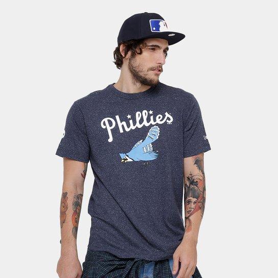 Camiseta Philadelphia Phillies New Era Vintage Masculina - Compre ... f1ecbb894ab