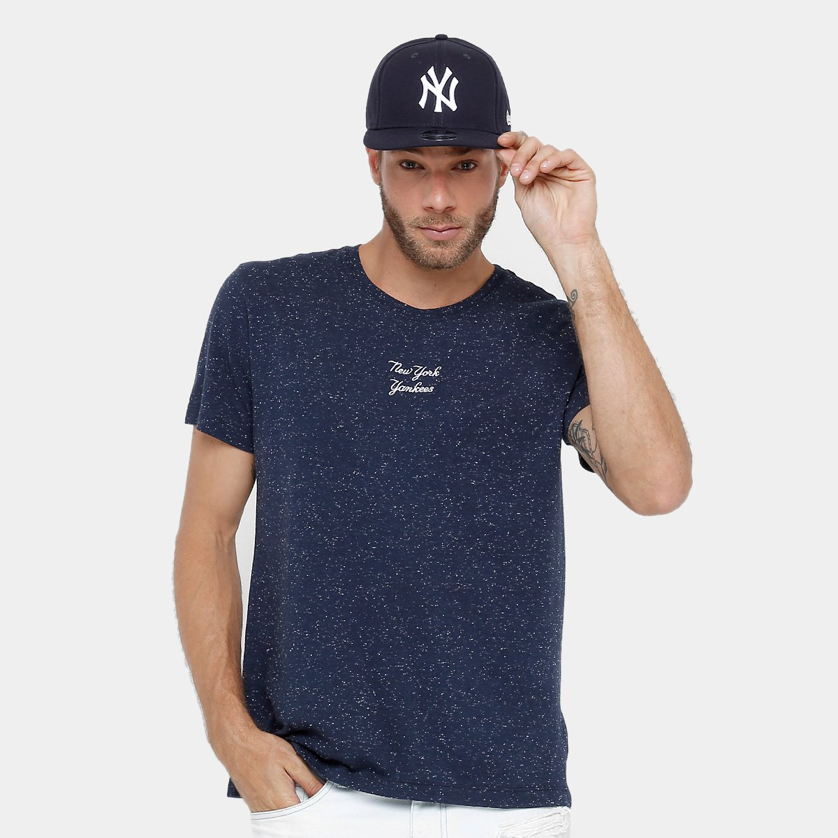 Camiseta New York Yankees New Era 932 Masculina 3b18fef0964