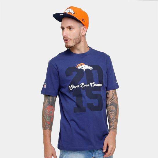 9dbf5d184 Camiseta NFL Denver Broncos New Era Piquet Masculina - Marinho ...
