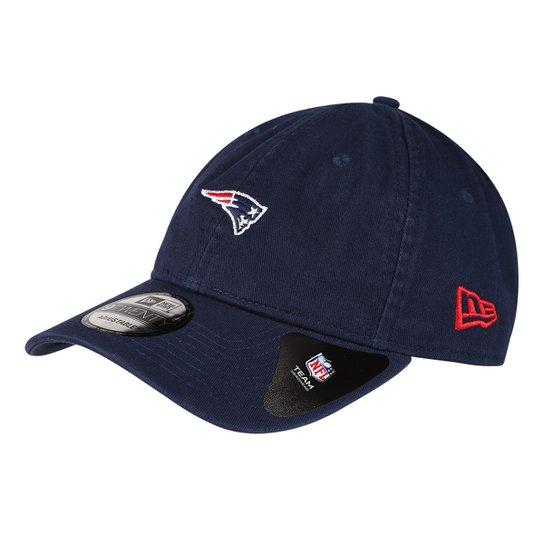 Boné New Era NFL New England Patriots Aba Curva 920 St Mino Logo Classic -  Marinho 11527e463fac4