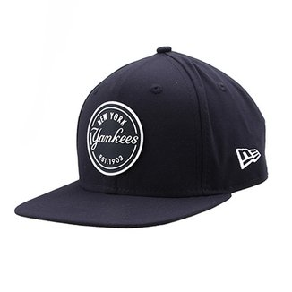 Boné New Era MLB New York Yankees Aba Reta 950 Of Sn Lic986 Su 8384d1520fe