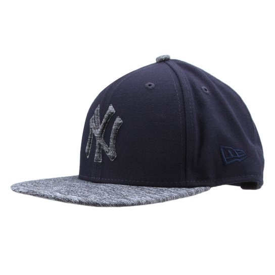 Boné New Era MLB New York Yankees Aba Reta 950 Of Sn Shadow Filled - Marinho ce03ca73851