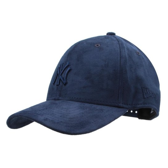 c4028b4820 Boné New Era MLB New York Yankees Aba Curva 940 Hp Sn Tonal Suede - Marinho