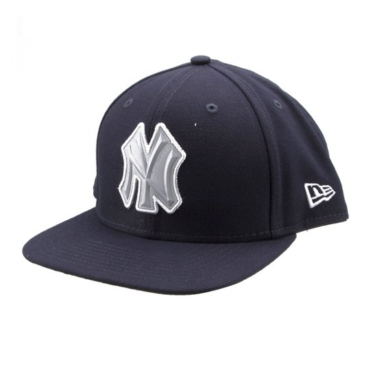Boné New Era MLB New York Yankees Aba Reta Flash - Compre Agora ... 5ae396f96a0