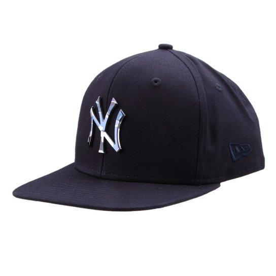 Boné New Era MLB New York Yankees Aba Reta 950 Of Sn Lic981 Su - Marinho 1fb932736cb