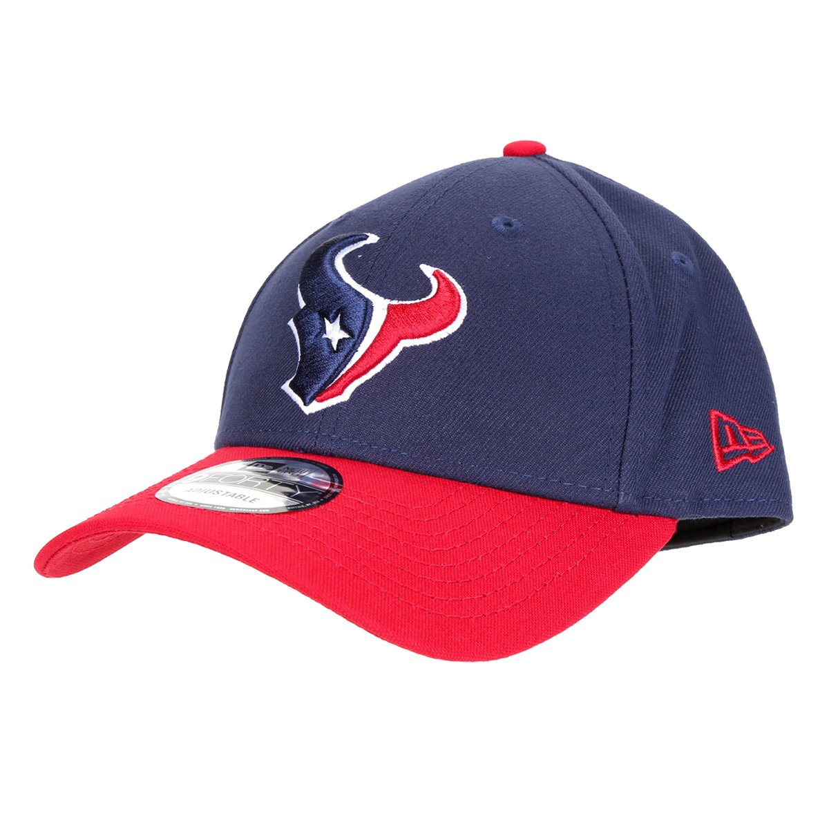 Boné New Era NFL Houston Texans Aba Curva Snapback 940 Team