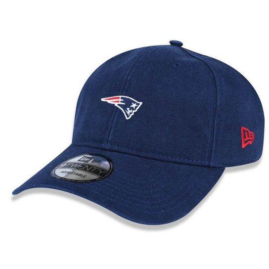 Boné New England Patriots 920 Mini Logo Classic - New Era - Compre ... a08097d537872