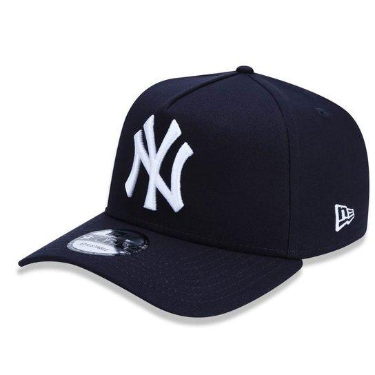 Boné New York Yankees 940 A-Frame New Era - Marinho - Compre Agora ... 1a7c748682f