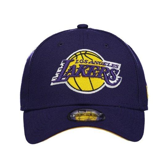 f0db4e627 ... Boné New Era NBA Los Angeles Lakers 940 - Marinho ...
