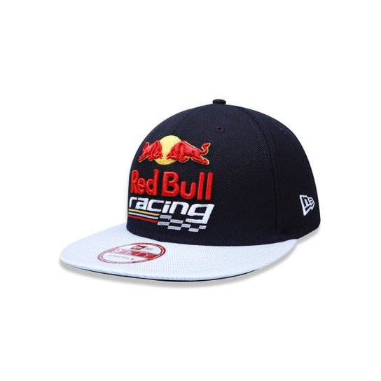 a703c0918 Bone 950 New Era Red Bull Racing Aba Reta - Compre Agora