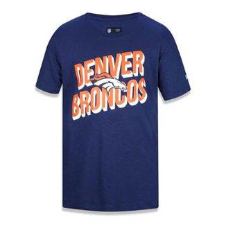 Camiseta Denver Broncos NFL New Era Masculina c44658b7f2e77