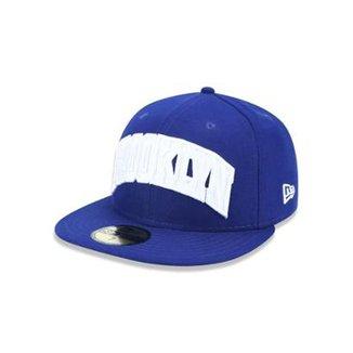 0253051c5 Boné 5950 Brooklyn Dodgers MLB Aba Reta New Era
