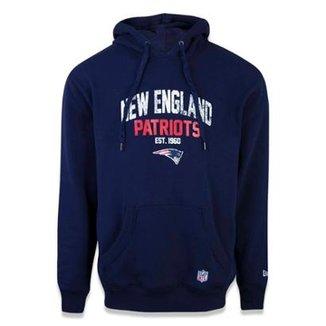 Moletom Canguru Fechado New England Patriots NFL New Era Masculino 7f70db63c6cb9