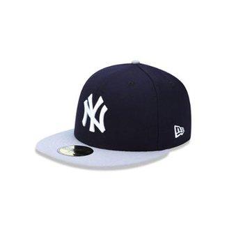 Boné 5950 New York Yankees MLB Aba Reta New Era b71beeb1aa1