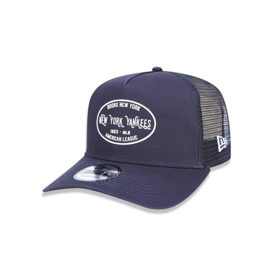 Boné 940 A-frame New York Yankees MLB Aba Curva New Era - Compre ... 11e9496d313