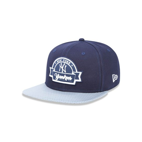 Boné 950 Original Fit New York Yankees MLB Aba Reta Snapback New Era -  Marinho 8c4002a590f