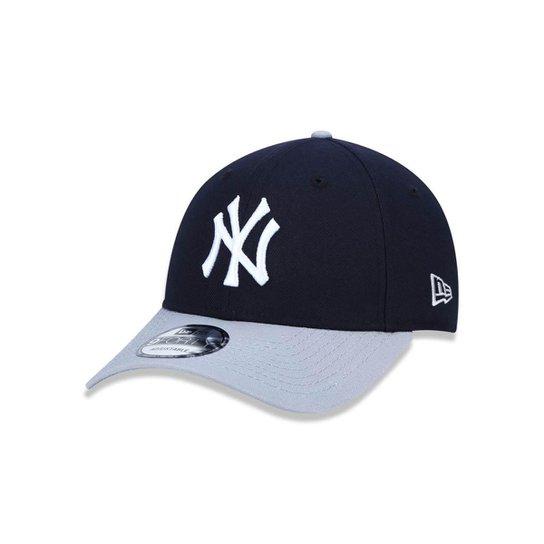 Boné 940 New York Yankees MLB Aba Curva Snapback New Era - Marinho ... 84f2c054897