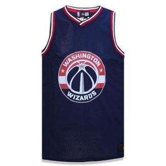 cb847e1bc Regata Washington Wizars NBA Marinho New Era
