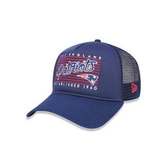 Boné 940 A-frame New England Patriots NFL Aba Curva New Era dac7b455b5a
