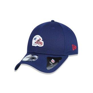 Boné 940 New England Patriots NFL Aba Curva Snapback New Era d664cd420a0