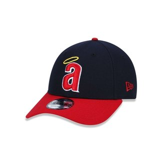 Boné 940 California Angels MLB Aba Curva Snapback New Era daf7c55b2f1