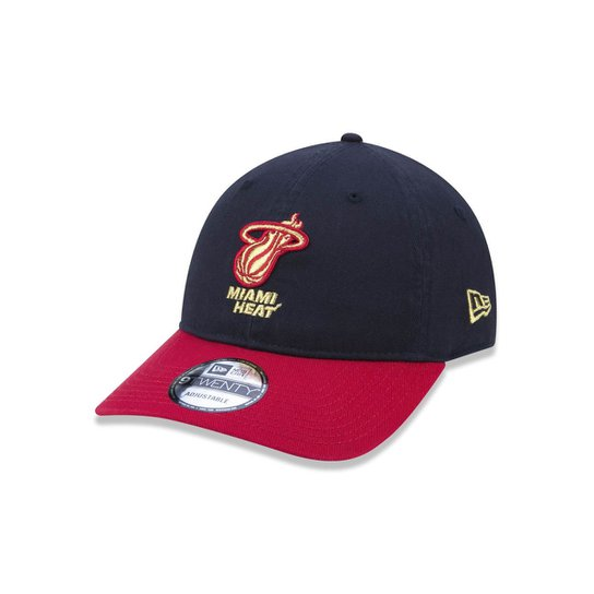 c43e103fa5e0b Boné 920 Miami Heat NBA Aba Curva Strapback New Era - Marinho | Netshoes