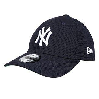 Boné New Era MLB New York Yankees Aba Curva 940 Sn Classic Mesh a8b9744623c
